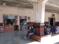 ट्रेनों में यात्री हुए कम, लेकिन IRCTC ने स्टॉल, फूड यूनिट की लाइसेंस फीस 10% बढ़ाई, वेंडर्स बोले-आर्थिक भार बढ़ेगा|जयपुर,Jaipur - Dainik Bhaskar