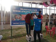 चूरू के 3 और झुंझुनूं के 2 खिलाड़ियों को मिला गोल्ड मैडल, जयपुर को सिर्फ एक|श्रीगंंगानगर,Sriganganagar - Dainik Bhaskar
