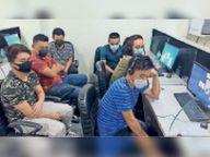 सोशल सिक्योरिटी नंबर के नाम पर अमेरीकी नागरिकों से ठगी करने वाले फर्जी कॉल सेंटर का भंडाफोड़ गुड़गांव,Gurgaon - Dainik Bhaskar
