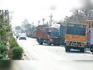 दूसरे दिन पुलिस ने 2 घंटे जंचवाई वाहनों की फिटनेस, रिपोर्ट- हर तीसरी गाड़ी के हेडलाइट बीम में मिली खामी, अब मशीन से जांचेंगे|रोहतक,Rohtak - Dainik Bhaskar