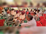 जमीन व प्रकृति का संरक्षण जरूरी|भगवतगढ़,Bhagwatgarh - Dainik Bhaskar