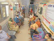 टीके की बेकद्री; श्रीगंगानगर में खराब हुई 10139 डोज, श्रीगंगानगर में अब केवल 10 हजार डोज बची|श्रीगंंगानगर,Sriganganagar - Dainik Bhaskar