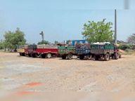 एक लाख मीट्रिक टन हुई गेहूं खरीदी, 65 हजार मीट्रिक टन किया परिवहन होशंगाबाद,Hoshangabad - Dainik Bhaskar