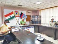 कोविड गाइडलाइन तोड़नेवालों से और सख्ती से पेश आएगी पुलिस|रांची,Ranchi - Dainik Bhaskar