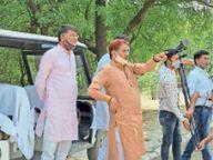 भाजपा के पूर्व प्रदेश अध्यक्ष के लिए खुला राष्ट्रीय पक्षी उद्यान, देश एवं विदेशी परिंदों का किया दीदार गुड़गांव,Gurgaon - Dainik Bhaskar