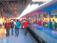 300 में से 240 ट्रेनें तो चलीं; 60% खाली, डबल डेकर और शताब्दी पर भी संकट|जयपुर,Jaipur - Dainik Bhaskar