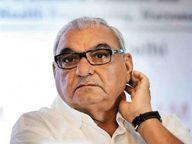पूर्व सीएम हुड्डा ने कहा - प्रदेश सरकार किसान से लेकर कोरोना तक हर मोर्चे पर विफल अम्बाला,Ambala - Dainik Bhaskar
