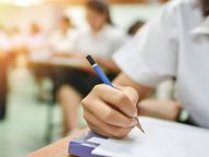 9वीं और 11वीं का परीक्षा शुल्क बढ़ाने का आदेश रद्द, शिक्षा विभाग की प्रमुख शासन सचिव जारी किए आदेश|अलवर,Alwar - Dainik Bhaskar