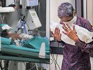 14 दिन की बच्ची की कोरोना से मौत; एक महीने में 10 साल से कम उम्र के 286 बच्चे संक्रमित, अब तक 3 की मौत|गुजरात,Gujarat - Dainik Bhaskar