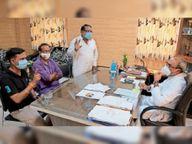 सेंटपॉल स्कूल में कोविड गाइड लाइन का उल्लंघन कर परीक्षा, मचा हंगामा|अजमेर,Ajmer - Dainik Bhaskar
