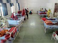 रेपिड एंटीजन टेस्ट में 16 पॉजिटिव निकले, एक शिक्षक ने दम तोड़ा राणापुर,Ranapur - Dainik Bhaskar