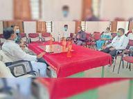 काेविड सेंटराें में संसाधन के लिए दस लाख देने की घाेषणा झाबुआ,Jhabua - Dainik Bhaskar