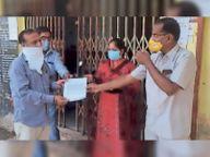 पांच दुकानदारों पर लगाया जुर्माना, दुकानें सील, व्यापारियाें में गुस्सा|होशंगाबाद,Hoshangabad - Dainik Bhaskar