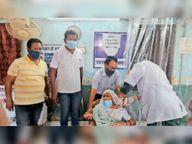 कोविशील्ड की 64500 व कोवैक्सीन की 16510 डोज मिली|जगदलपुर,Jagdalpur - Dainik Bhaskar