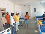 दस दिन में आई रिपोर्ट में 80 संक्रमित इस बीच किससे मिले इसका रिकाॅर्ड नहीं धार,Dhar - Dainik Bhaskar