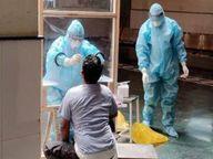 बिलासपुर में संक्रमण दर 59.62%, पहली बार 1304 मरीज, 45 की मौत|बिलासपुर,Bilaspur - Dainik Bhaskar