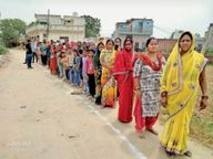 3 कॉलोनियों के हजारों लोगों का रेलवे के सीमांकन में रास्ता बंद|सोनीपत,Sonipat - Dainik Bhaskar