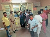 रेमडेसिविर के 170 इंजेक्शन ही मिले, शाम हाेते-हाेते सभी खत्म पाली,Pali - Dainik Bhaskar