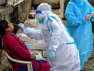 प्रदेश में रिकॉर्ड 16083 नए संक्रमित मिले, 158 मौतें भी|रायपुर,Raipur - Dainik Bhaskar
