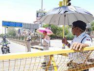 तेज गर्मी से मौसम में बदलाव, दो दिन में हवाएं चलने और बूंदाबांदी होने की संभावना|जोधपुर,Jodhpur - Dainik Bhaskar