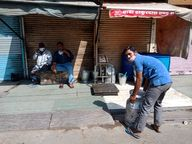 शादियों के सीजन को देखते हुए पहले से बुक टेलर और ज्वैलर से सामान मिल सकेगा, जिसके लिए पास बनवाकर ही दुकान खोली जा सकेंगी|अलवर,Alwar - Dainik Bhaskar