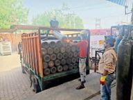 चार गुना तक बढ़ी ऑक्सीजन सिलेंडर की डिमांड, एजेंसी ने की एडवांस तैयारी|सोनीपत,Sonipat - Dainik Bhaskar