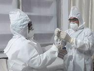 अब तक 9 विभागाें के 33 कर्मी हुए कोरोना संक्रमित, दो की मौत|होशंगाबाद,Hoshangabad - Dainik Bhaskar