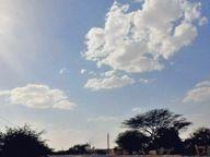 गर्म हवा चलने का दौर शुरू; एक दिन में तापमान 3 डिग्री बढ़ा, रात में भी राहत नहीं|बाड़मेर,Barmer - Dainik Bhaskar