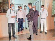 अस्पतालों में अतिरिक्त बेड के साथ संक्रमितों के अंतिम संस्कार की पुख्ता व्यवस्था में जुटा निगम|जोधपुर,Jodhpur - Dainik Bhaskar