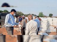 स्वीकृति पत्रक नहीं बनाने से रुका किसानों का भुगतान, पंखे, छलने की व्यवस्था नहीं करने पर समिति प्रबंधक को नोटिस|उज्जैन,Ujjain - Dainik Bhaskar