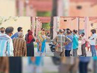 पानी के लिए भटक रहे वार्ड 6 के रहवासी बोले- एक दिन छोड़कर भी नहीं मिल रहा पानी|उज्जैन,Ujjain - Dainik Bhaskar