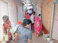 एक कोरोना संक्रमित व 3 संदिग्धाें की माैत, एक ही दिन में 2.22% गिरी रिकवरी रेट पाली,Pali - Dainik Bhaskar