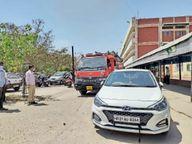 अग्निशमन सुरक्षा दिवस पर सिविल अस्पताल के स्टाफ को किया जागरूक|अम्बाला,Ambala - Dainik Bhaskar