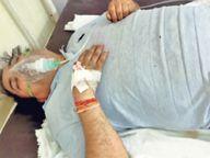 नए मरीजाें काे न बुखार, जांच भी नेगेटिव पर फेफड़े 80% तक संक्रमित हो रहे|जयपुर,Jaipur - Dainik Bhaskar