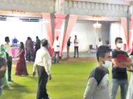 हालात खराब होने के बाद भी लोग नहीं सुधर रहे, वैशाली में लग्न में 175 मेहमान पहुंचे, मैरिज गार्डन सील किया गया|जयपुर,Jaipur - Dainik Bhaskar
