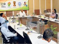 मुख्यमंत्री ने दिए निवेश बढ़ाने के निर्देश, कहा- निवेश में आ रही अड़चनों को दूर कर प्रोजेक्ट्स की समयबद्धता सुनिश्चित की जाए|जयपुर,Jaipur - Dainik Bhaskar