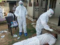 कोरोना की दौड़; 248 नए रोगी, 18 फीसदी हुई संक्रमण की दर, लापरवाही की होड़; दिनभर घूमे शहरवासी, ज्यादा फैलेगा वायरस|सीकर,Sikar - Dainik Bhaskar