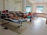 निजी कंपनी के कर्मचारी पीछे के रास्ते से कर रहे थे नए मरीज भर्ती, मैनेजर पर केस दर्ज इंदौर,Indore - Dainik Bhaskar