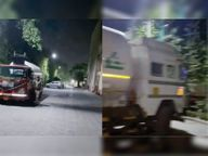 20 हजार लीटर ऑक्सीजन से भरे टैंकर जाम में फंस गए थे पुलिस ने कॉरिडोर बनाकर दो ऑक्सीजन टैंकरों को अस्पताल पहुंचवाया|दिल्ली + एनसीआर,Delhi + NCR - Dainik Bhaskar