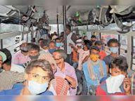 दूसरे राज्यों में लॉकडाउन व मजदूरों के पलायन से संकट में इंडस्ट्री, उद्यमी बोले- हमारे रोके नहीं रुक रहे कामगार|पानीपत,Panipat - Dainik Bhaskar