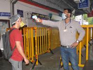 विभाग का घर-घर सर्वे शुरू, खांसी-जुकाम वालों की स्क्रीनिंग की सीकर,Sikar - Dainik Bhaskar