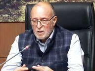 वीडियो कांफ्रेंस कर एलजी से भाजपा नेताओं ने रखी मांग|दिल्ली + एनसीआर,Delhi + NCR - Dainik Bhaskar