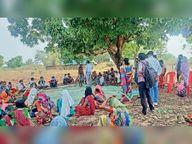 कामानार में वैक्सीन का विरोध, समझाने पर भी नहीं मान रहे|छत्तीसगढ़,Chhattisgarh - Dainik Bhaskar