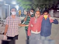 एसकेएमसीएच में कंधे पर ऑक्सीजन सिस्टम , आखिर सवाल सांस का मुजफ्फरपुर,Muzaffarpur - Dainik Bhaskar