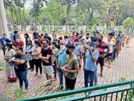 जिले में 927लोगों की रिपोर्ट आई पॉजिटिव, 9मरीजों की गई जान|मोहाली,Mohali - Dainik Bhaskar
