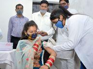5 दिन में 14505 लाेगाें काे वैक्सीन लगी; इनमें 9 हजार 486 युवाओं ने लगवाई, आज 15 सेंटरों पर टीकाकरण|पानीपत,Panipat - Dainik Bhaskar