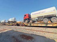 28 टन का टैंकर आते ही जयपुर से कोटा की सप्लाई कम करने का फरमान आ गया|कोटा,Kota - Dainik Bhaskar