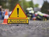 दंपती को ट्रक ने मारी टक्कर 2 माह के बच्चे व मां की मौत|भिलाई,Bhilai - Dainik Bhaskar