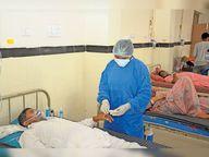 353 दिन से कोविड वार्ड में हर रोगी की बच्चों सी कर रही सार संभाल, इन्हीं की बदौलत 13 हजार 120 में से 7993 स्वस्थ हुए|श्रीगंंगानगर,Sriganganagar - Dainik Bhaskar