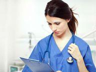 नर्सिंग शिक्षक संघ ने पदनाम परिवर्तन को लेकर चिकित्सा मंत्री को भेजा ज्ञापन|सीकर,Sikar - Dainik Bhaskar